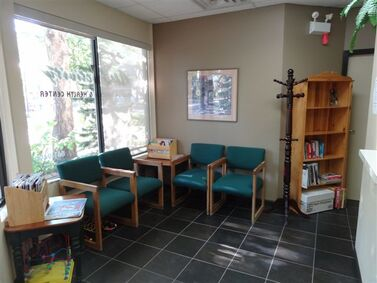 Massage Clinic waiting room